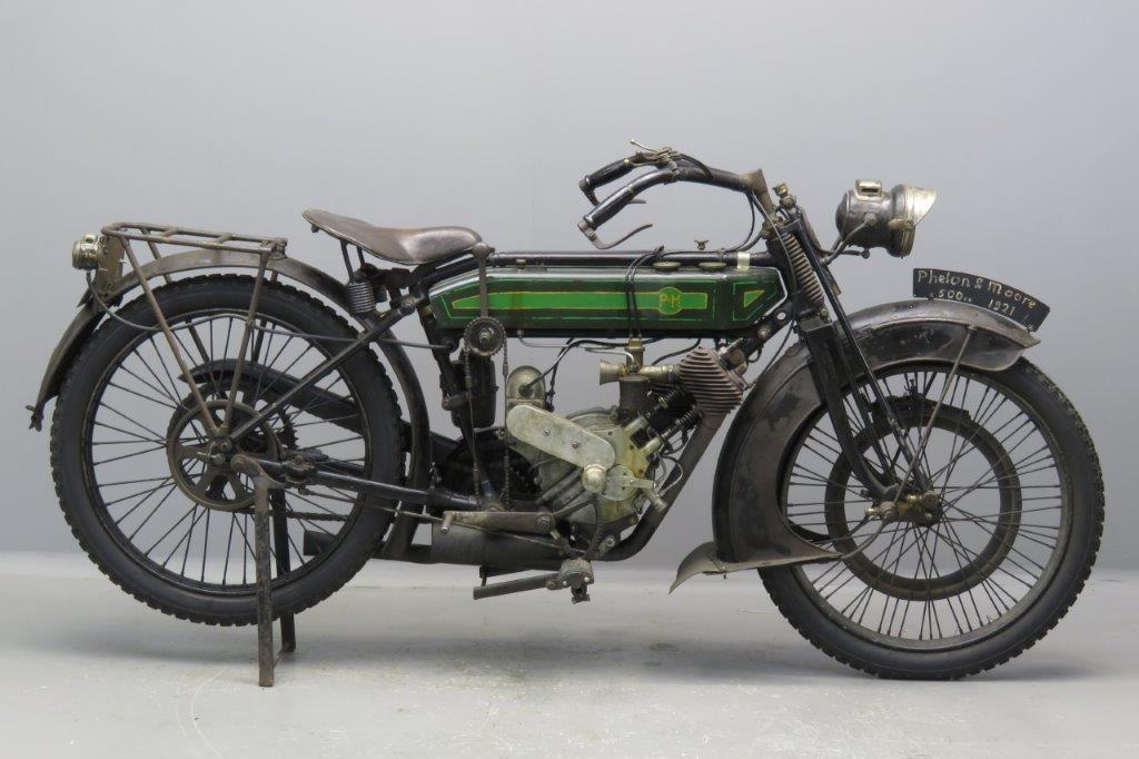 P&M 1921 500cc 1 cyl sv  2610