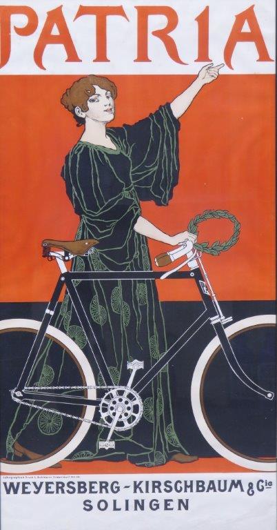 Patria original lithographic poster