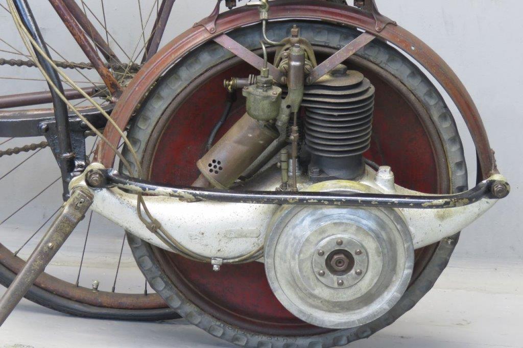Briggs Amp Stratton 1920 Motorwheel On Pierce Bicycle 2606