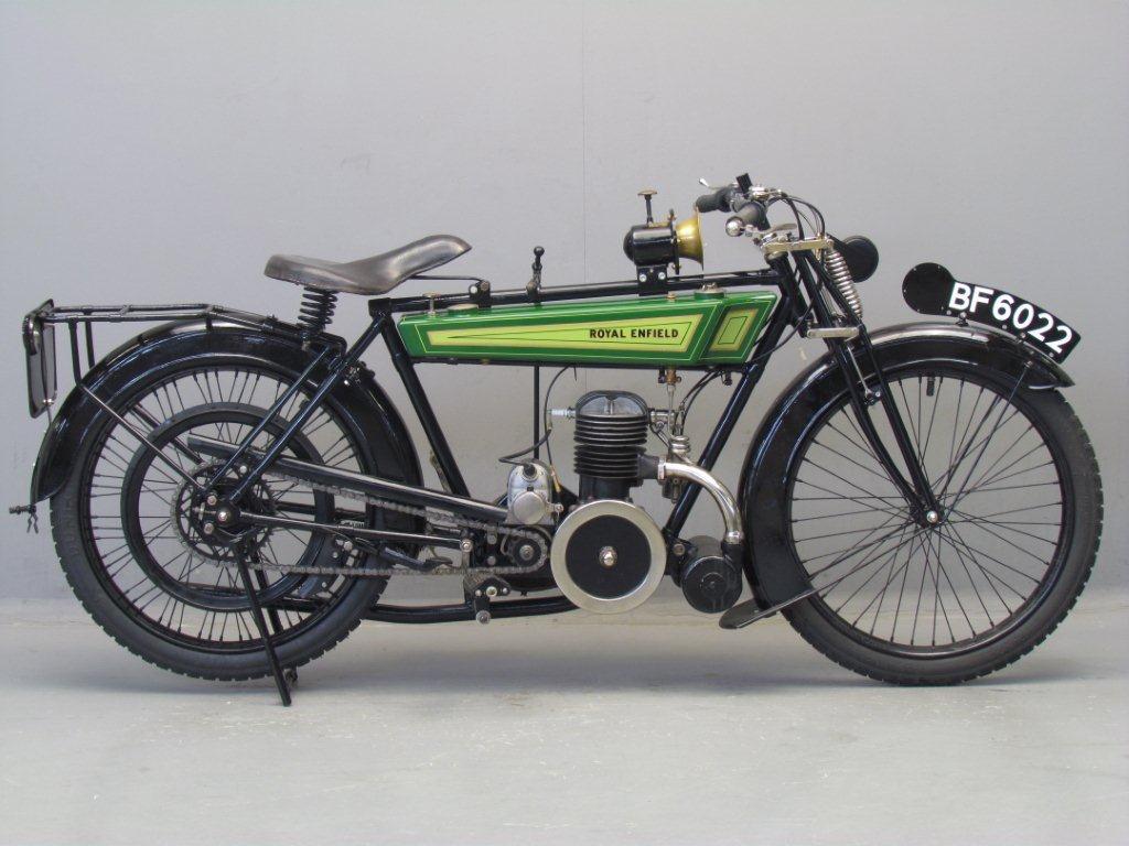 Royal Enfield 1922 RE201 225cc 1 cyl ts   2910