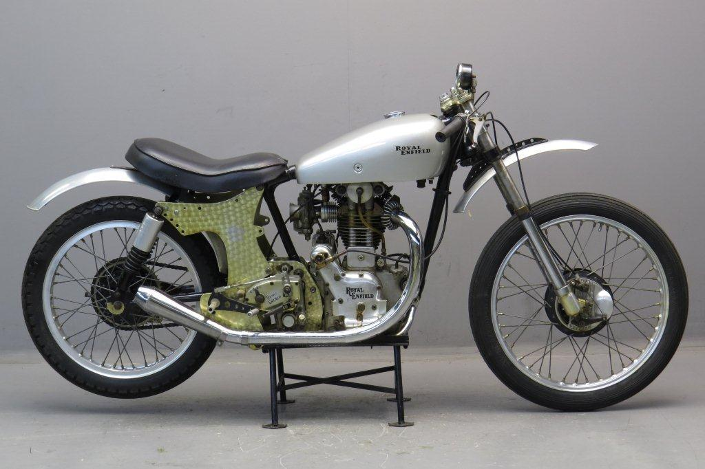 royal enfield 1949 the ex bill lomas racing motorcycle yesterdays. Black Bedroom Furniture Sets. Home Design Ideas