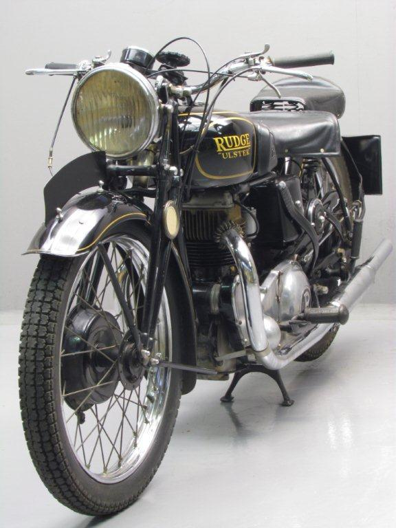 Rudge 1938 Ulster 500cc 1 Cyl Ohv Yesterdays