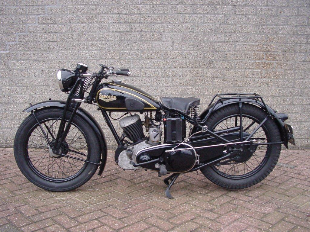 Sarolea 1946 46as 350 Cc 1 Cyl Sv Yesterdays