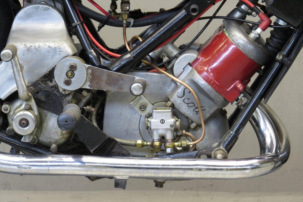 Scott 1930 Flying Squirrel 596cc 2 Cyl Ts Yesterdays