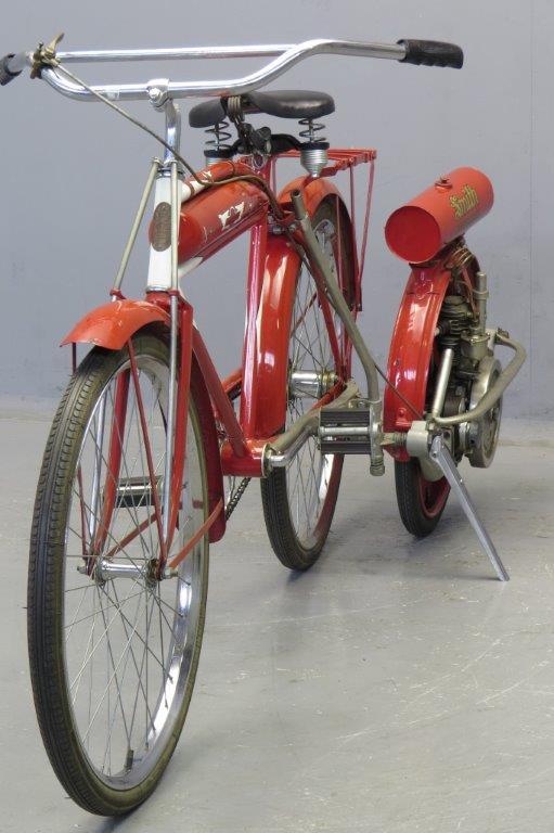 Types Of Bicycles >> Smith Motor Wheel 1917 - Yesterdays