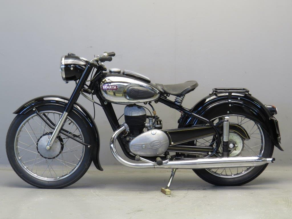 Electric Motor Scooter >> Sparta 1954 NL200 200cc 1 cyl ts 2508 - Yesterdays