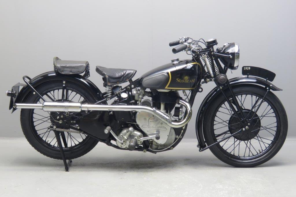 Sunbeam 1939 B25S 500cc 1 cyl ohv  2701