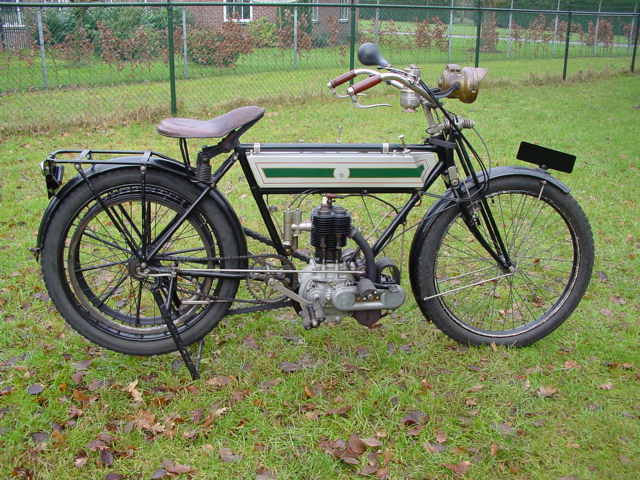 Triumph 1910 3½hp 500cc 1 cyl sv