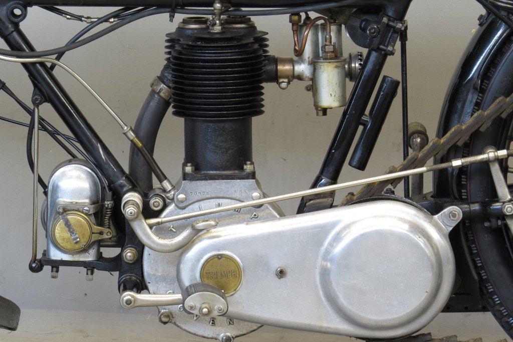 triumph 1920 model h 550 cc 1 cyl sv - yesterdays