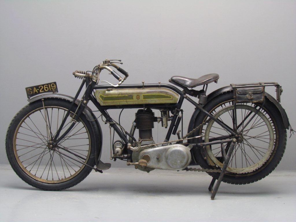 Triumph 1920 Model H 550 Cc 1 Cyl Sv Yesterdays