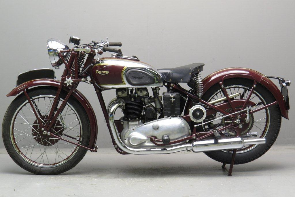 Triumph 1939 Speed Twin 500cc 2 Cyl Ohv Yesterdays