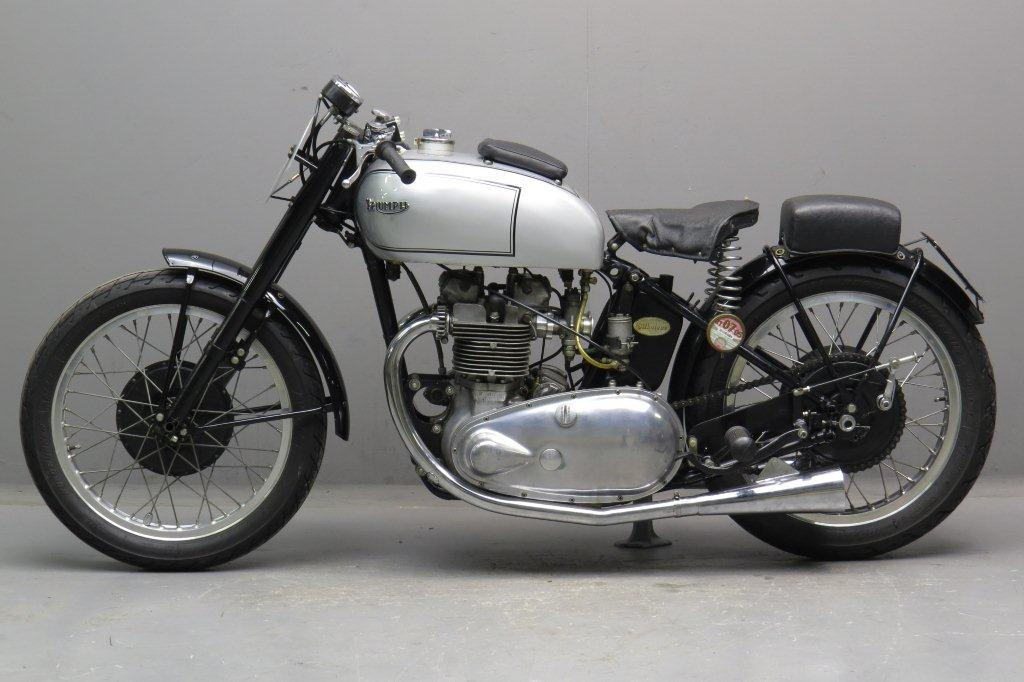 triumph 1946 grand prix 500cc 2 cyl ohv yesterdays. Black Bedroom Furniture Sets. Home Design Ideas