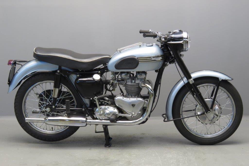 Triumph 1957 T100 500cc 2 cyl  ohv  2611