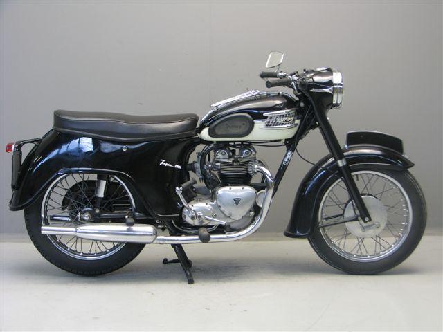 Triumph 1961 T100 500 Cc 2 Cyl Ohv Yesterdays