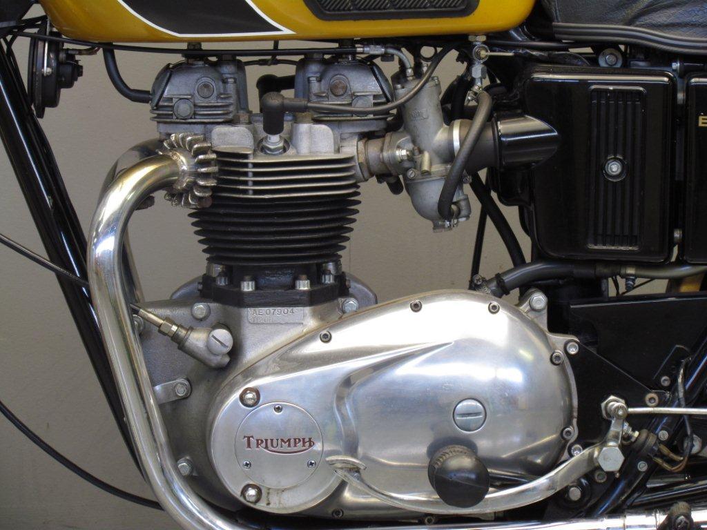 Triumph 1971 Bonneville T120 650 Cc 2 Cyl Ohv Yesterdays