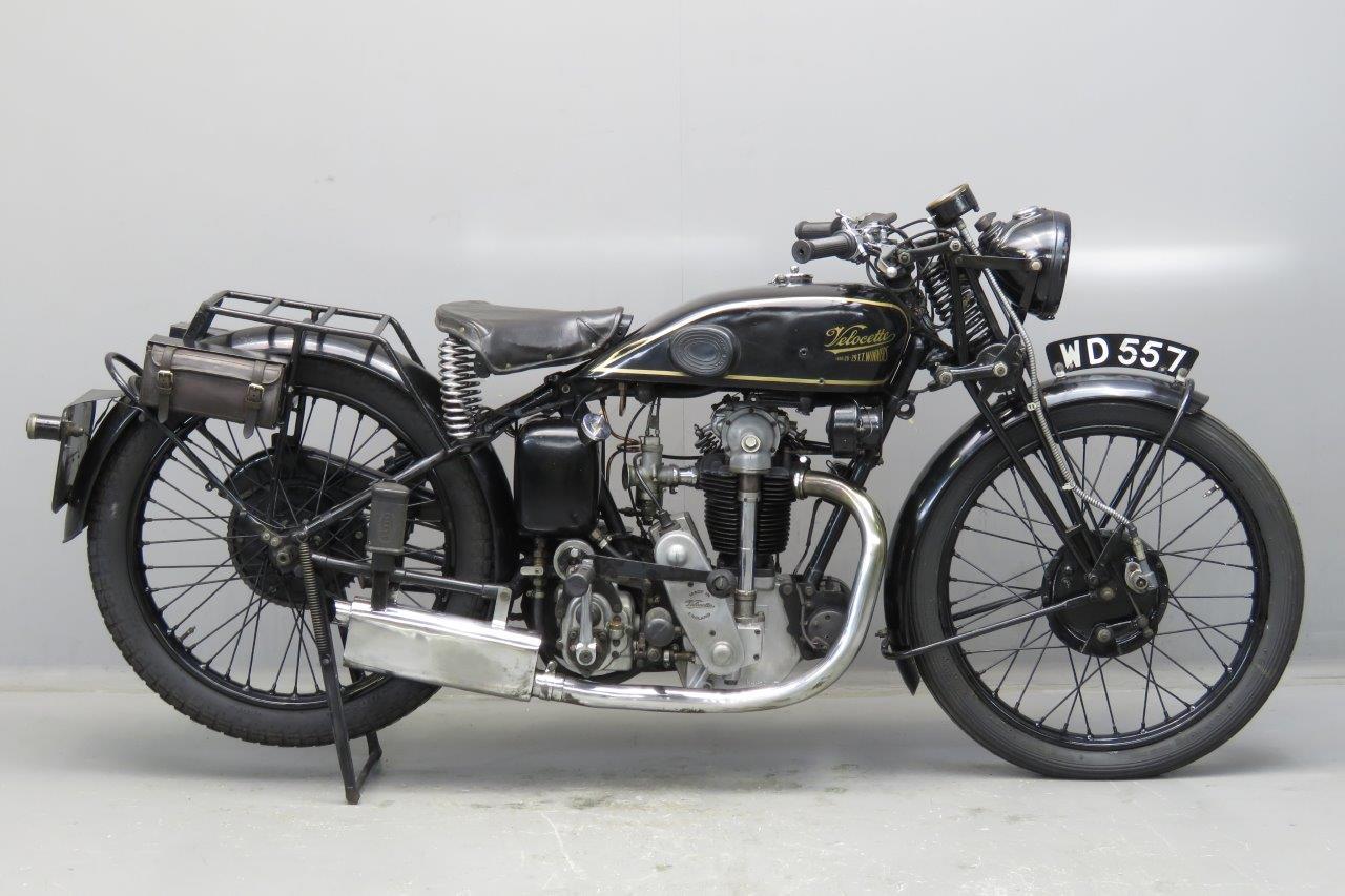Velocette 1930 KSS 350cc 1 cyl ohc  2603