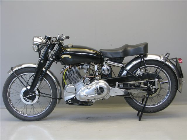Vincent 1953 Comet 500 Cc 1 Cyl Ohv Yesterdays