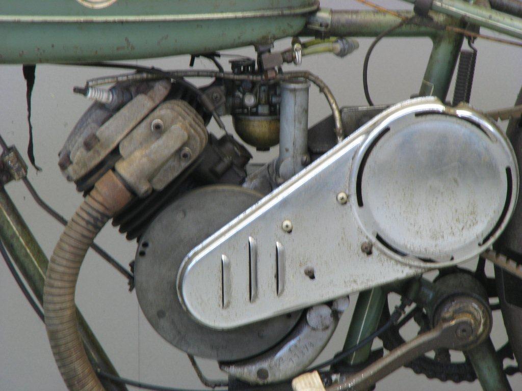 Whizzer 1947 150 cc 1 cyl sv - Yesterdays