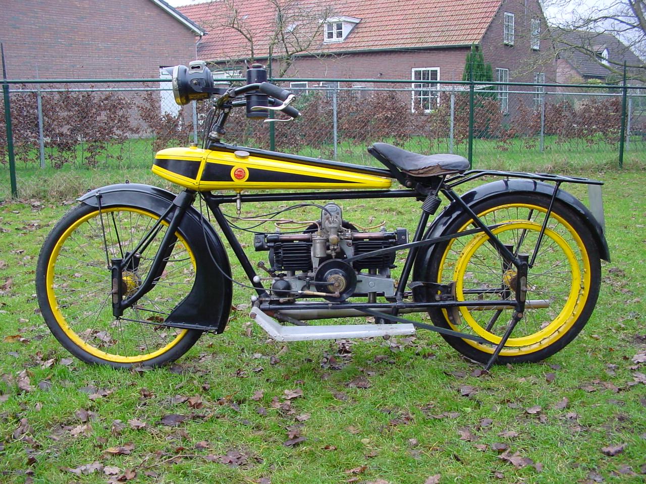 Wooler 1920 350 Cc 2 Cyl Ioe