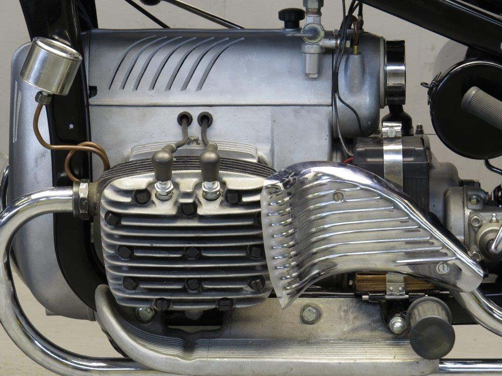 Zundapp K on Horizontally Opposed 4 Cylinder Engine