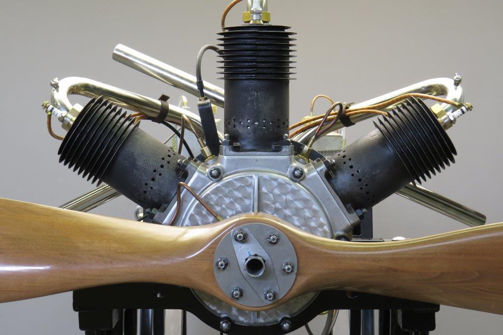 Anzani 3 cyl 1910 recreation