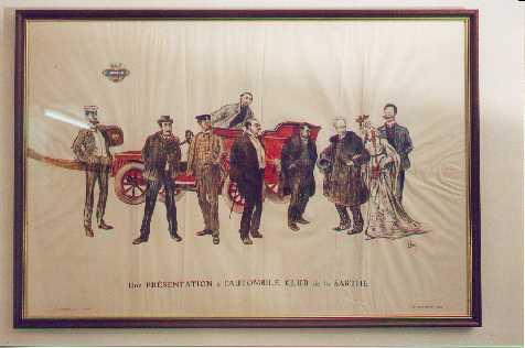 L'Automobile Club du S arthe ca 1910