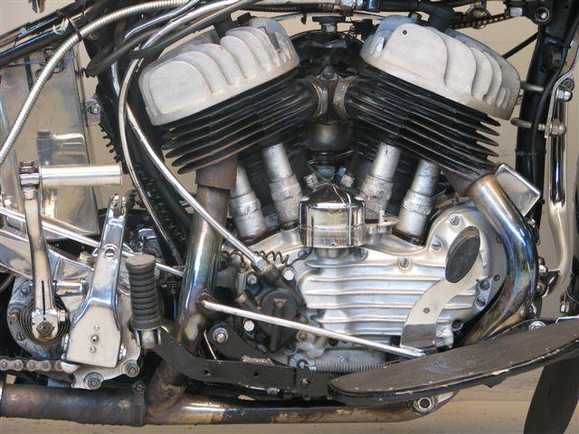 Harley Davidson 1947 WLA - Yesterdays
