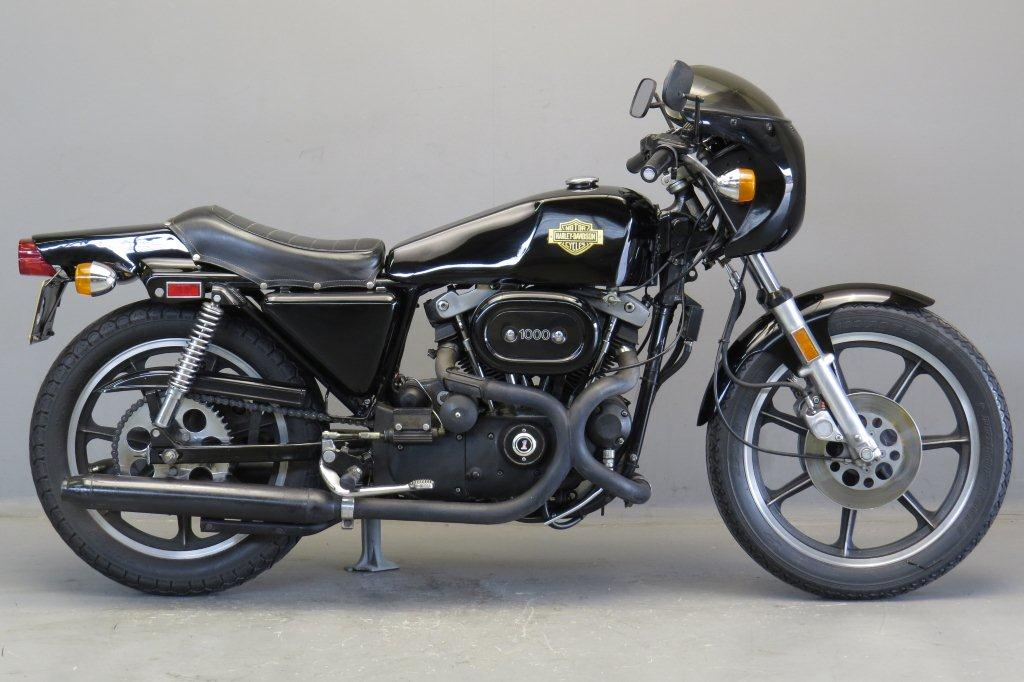 Harley Davidson 1978 XLCR Cafe Racer 1000cc 2 cyl ohv