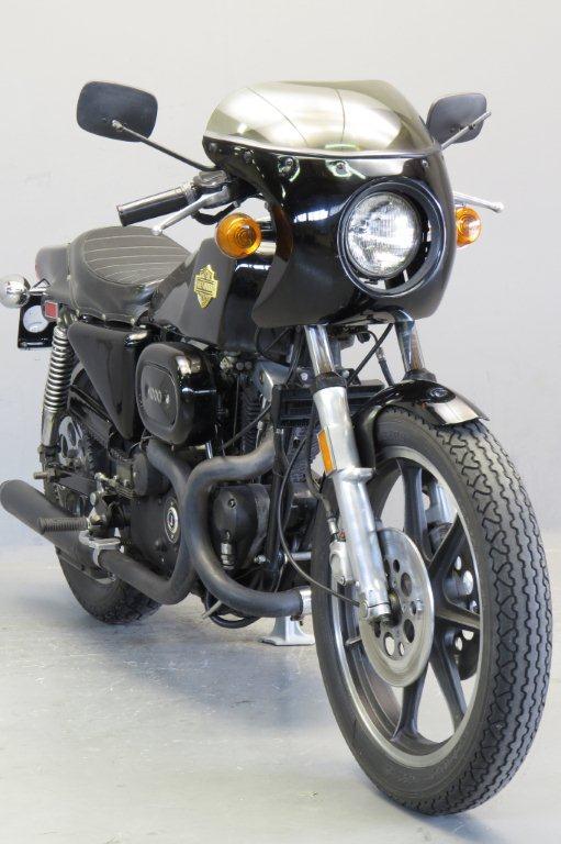 Harley-Davidson XLCR 1978 Cafe Racer Frame/ Engine # 7F11649HB