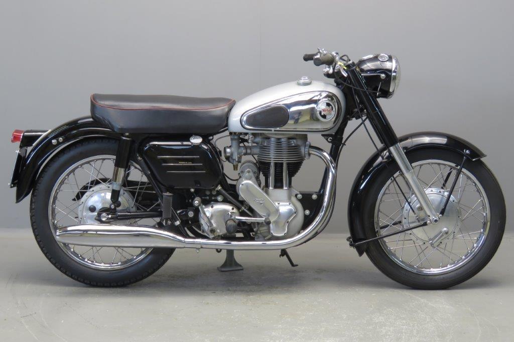 Norton 1958 Model 50 350cc 1 cyl ohv 2705 - Yesterdays