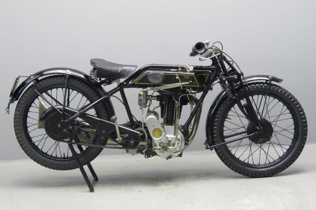 Sunbeam-1927 Model 9 500cc 1 cyl ohv  2705