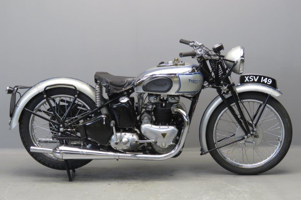 Triumph 1939 Tiger 100  500cc 2 cyl ohv  2705
