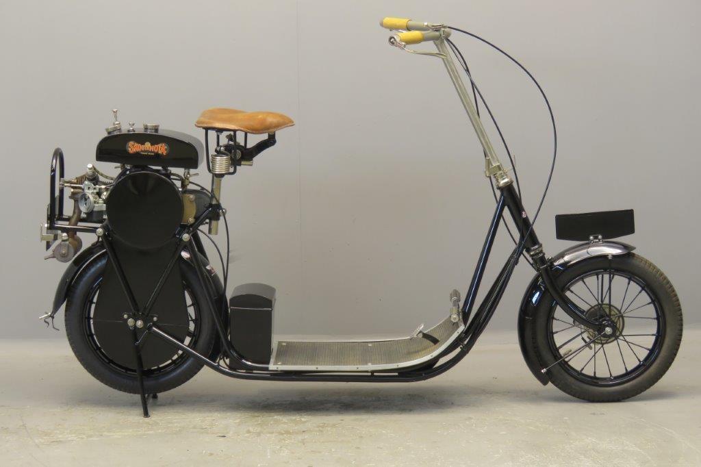 ABC 1919 Skootamota 124cc 1 cyl eoi  2706