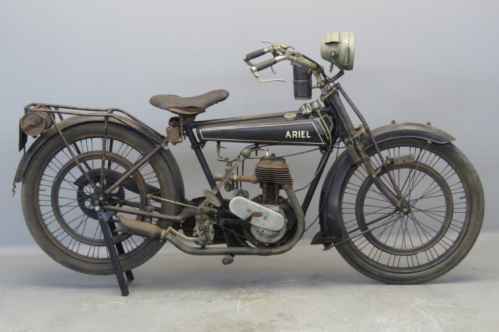 Ariel 1924 Lightweight 250cc 1 cyl sv  2706