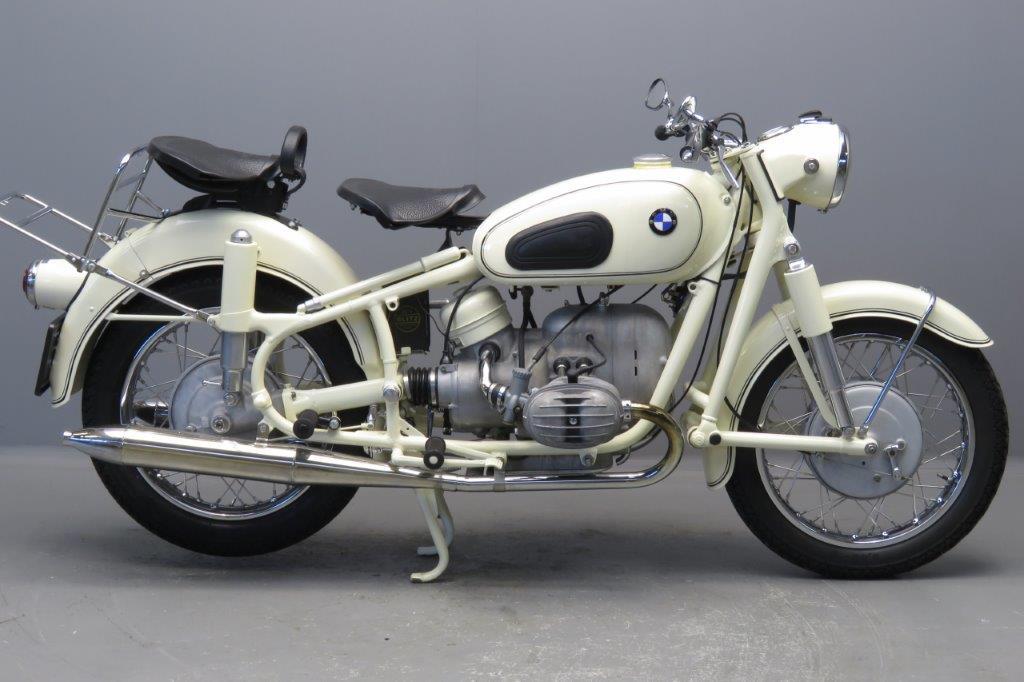 BMW 1965 R50 500cc 2 cyl ohv  2706