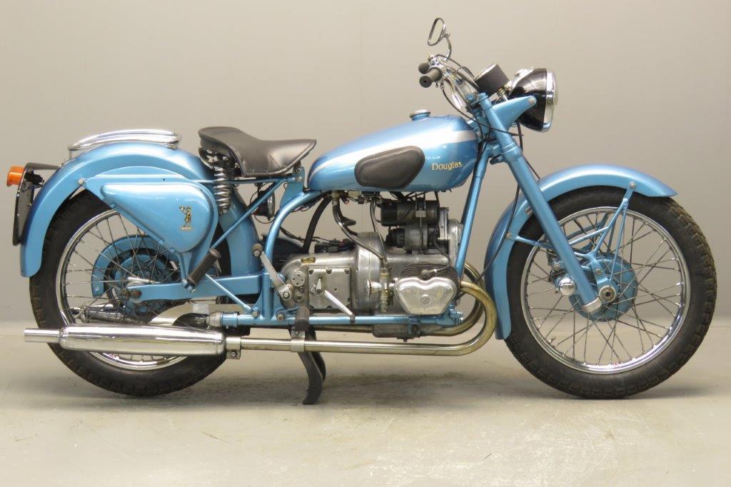Douglas 1950 Mark IV Sports 348cc 2 cyl ohv  2706