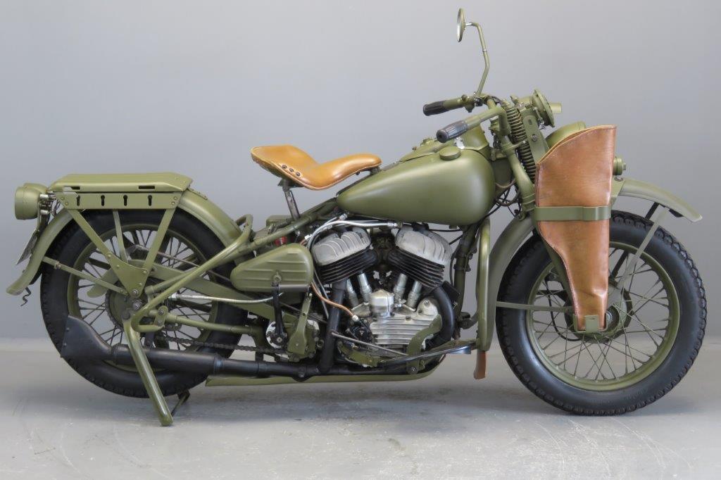 Harley Davidson 1942 WLA  750cc 2 cyl sv  2706