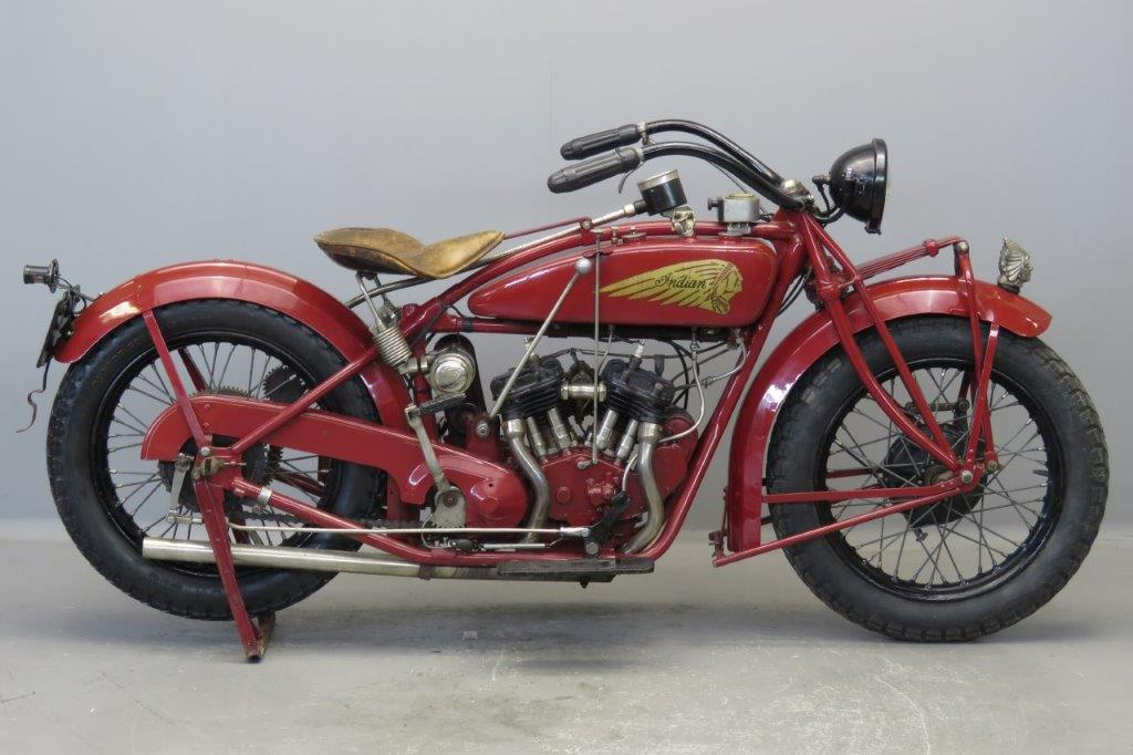 Indian 1926 Scout 600cc 2 cyl sv  2706