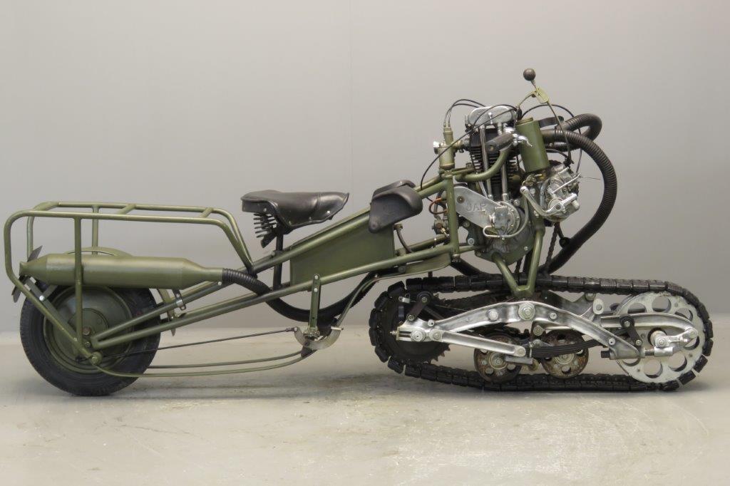 Mercier 1939 Moto Chenille  350cc 1 cyl ohv  2706