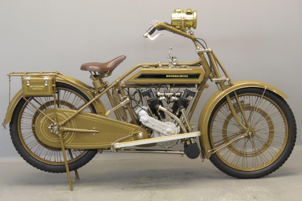 Motosacoche 1921 5hp 592cc 2 cyl ioe  2706