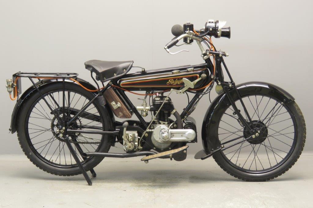 Raleigh 1926 Model 5 348cc 1 cyl sv  2706
