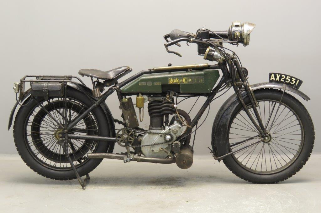 Rudge 1920 Multi  500cc 1 cyl ioe  2706