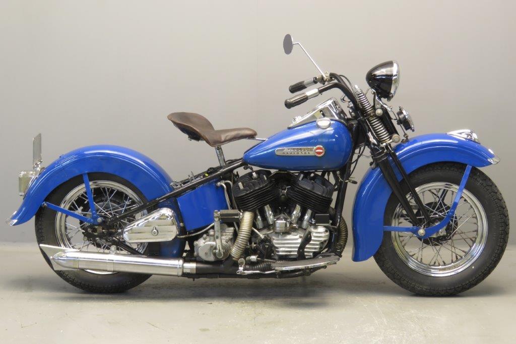 Harley Davidson 1947 Model U 1200cc 2 cyl sv  2707
