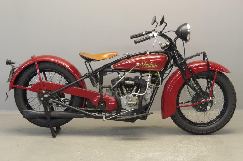 Indian 1930 101 scout 600cc 2 cyl sv  2707