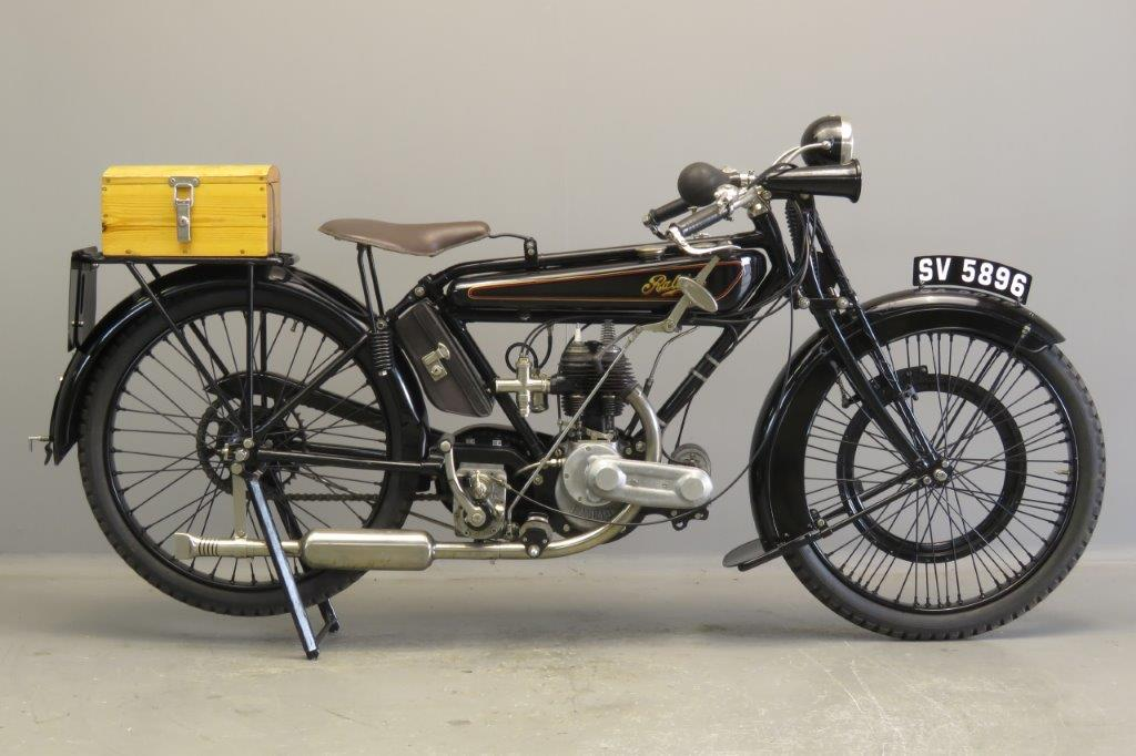 Raleigh 1923 Model 6 348cc 1 cyl sv  2707