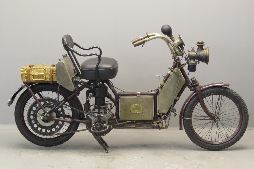 Autofauteuil 1908 350cc1 cyl sv  2708