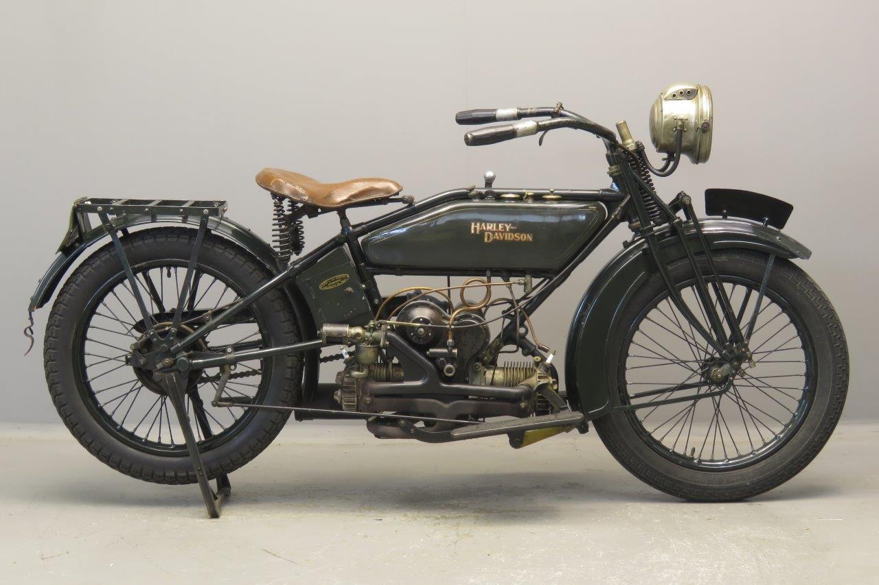 Harley Davidson 1923 Model WF 584cc 2 cyl sv  2708