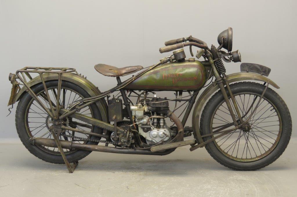 Harley Davidson 1926 Model B 350cc 1 cyl sv  2708