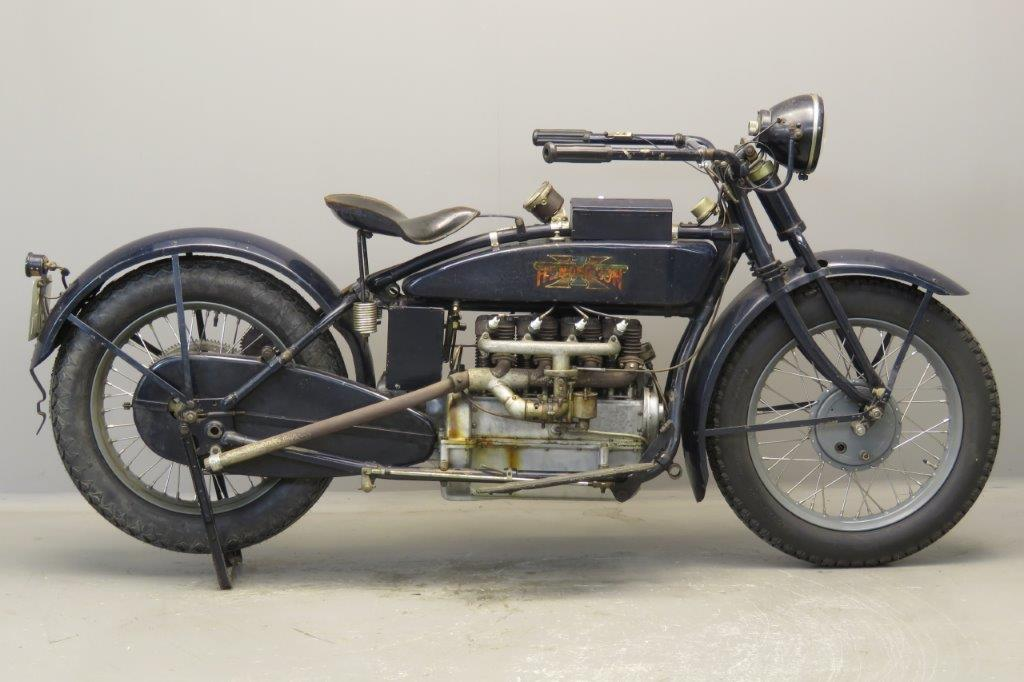 Henderson 1921 Model K 1264cc 4 cyl sv  2708