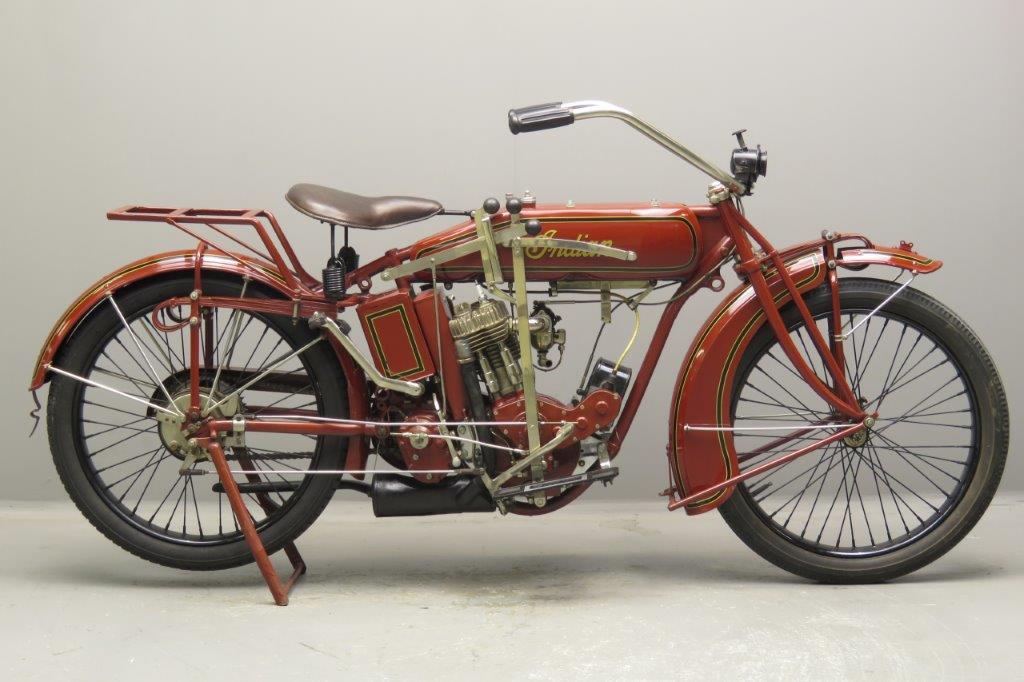 Indian 1918 W-18 550cc 1 cyl sv  2708